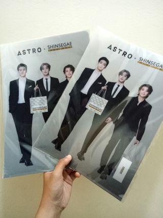 ASTRO 韓國代言 官方周邊 資料夾