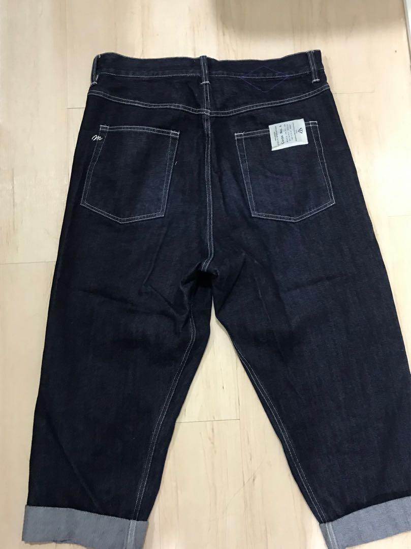 18AW MADNESSUNWASHED DENIM PANTS