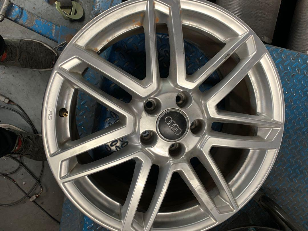 18inch Rim only Audi TT stock Rs