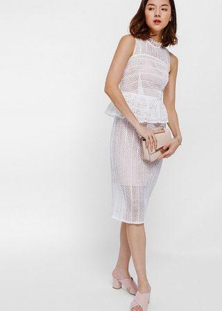 BNWT Love Bonito Crochet Lace Dress