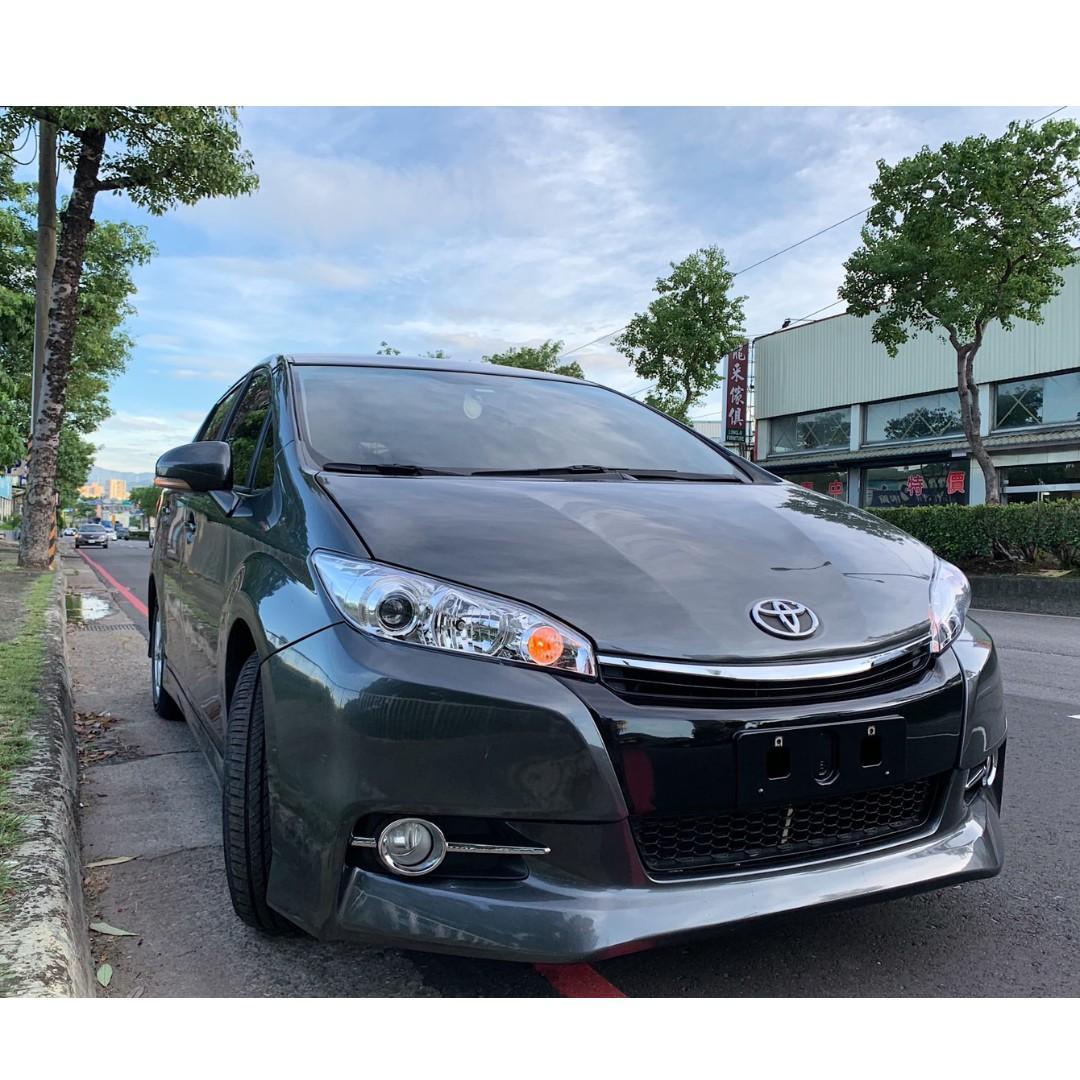 正2011年 最新款Toyota Wish 2.0E 定速高階版
