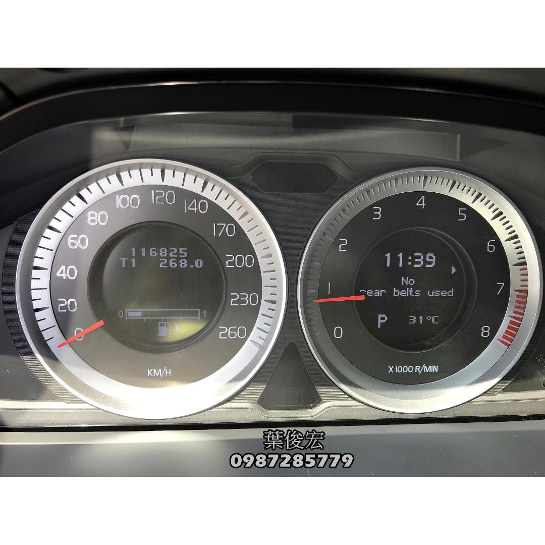 2013年Volvo S60 T4 1.6汽油渦輪 瑞典國寶 路上安全守護者