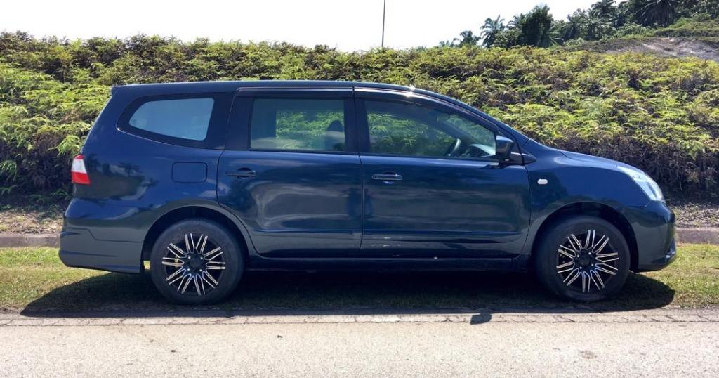 2015 Nissan GRAND LIVINA 1.6 (A) B/L LOAN KEDAI 5K