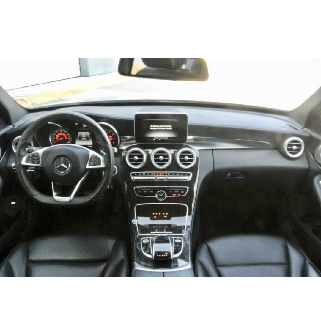 2015年M-Benz C300 AMG 鑽石銀 月繳6700