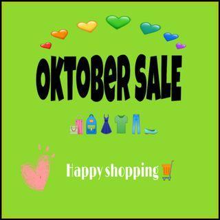 Oktober Sale