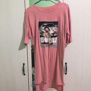 長版T恤 裙子