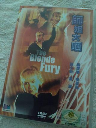 DVD -  師姐大晒 THE BLONDE FURY aka RIGHTING WRONGS 2 / LADY REPORTER (1989)