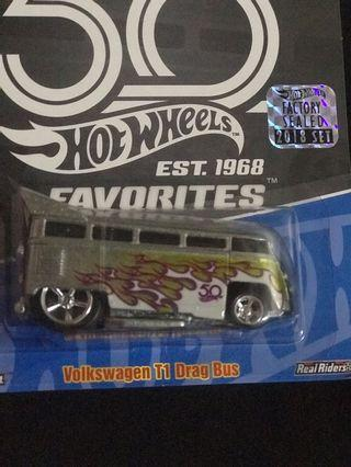 Hotwheels volkswagen Drag Bus