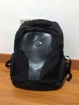 """Tas Ransel Laptop 15"""" Exsport Black #1010flazz"""