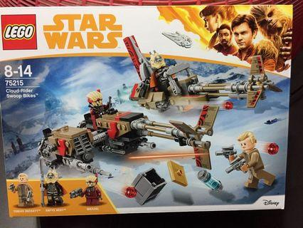 Star Wars Lego 75215 Enfys Nest Swoop Cloud Rider Solo movie playset bricks
