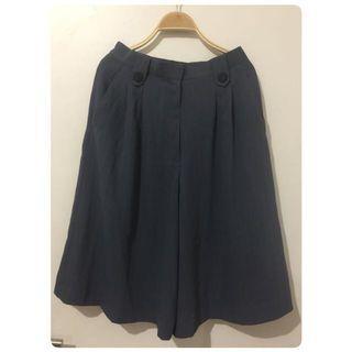 Reprice! Celana kulot | grey pants #1010flazz