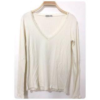 Stradivarius white sweater #1010flazz| white blouse | white top | lace top