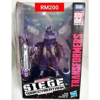 Shockwave Leader Class Transformers Siege War For Cybertron Trilogy RM200