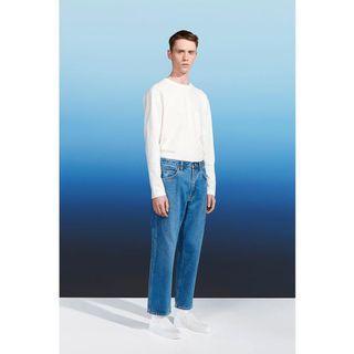Uniqlo U SLIM FIT 九分牛仔褲 | Christophe Lemaire 經典