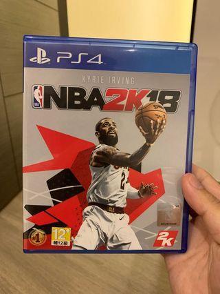 PS4 2K18 NBA