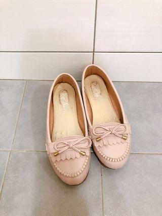 台製手工鞋 D+f 23.5cm 適穿 舒適休閒鞋 女鞋