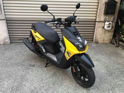 【幽浮二手機車】YAMAHA BWSR 125 黃色 2017 【999元牽車專案開跑 】
