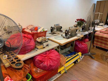 industrial sewing machine juki and maqi