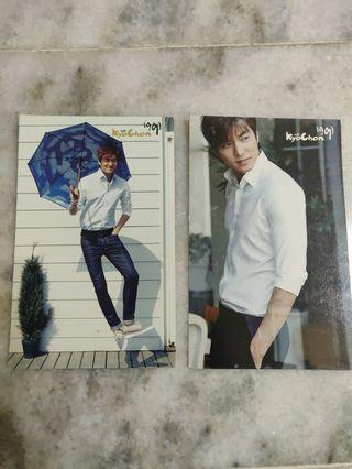 WTS Lee Min Ho Postcard