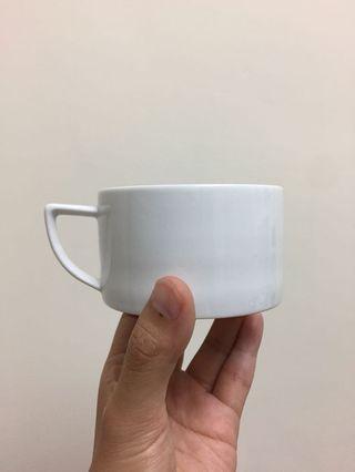 北歐極簡設計 六個咖啡杯組 茶杯 六個一起賣 白瓷