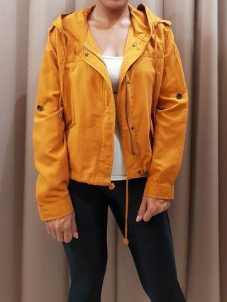 Forever 21 hoodie parka wind jacket