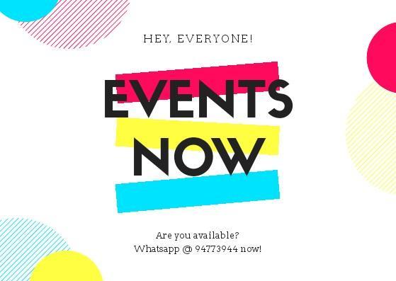 6 X EVENT ASSISTANT @ SUNTEC/EXPO
