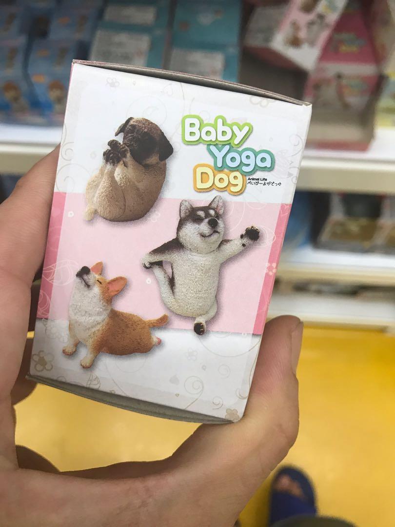 狗瑜珈寶寶共五款(單售)