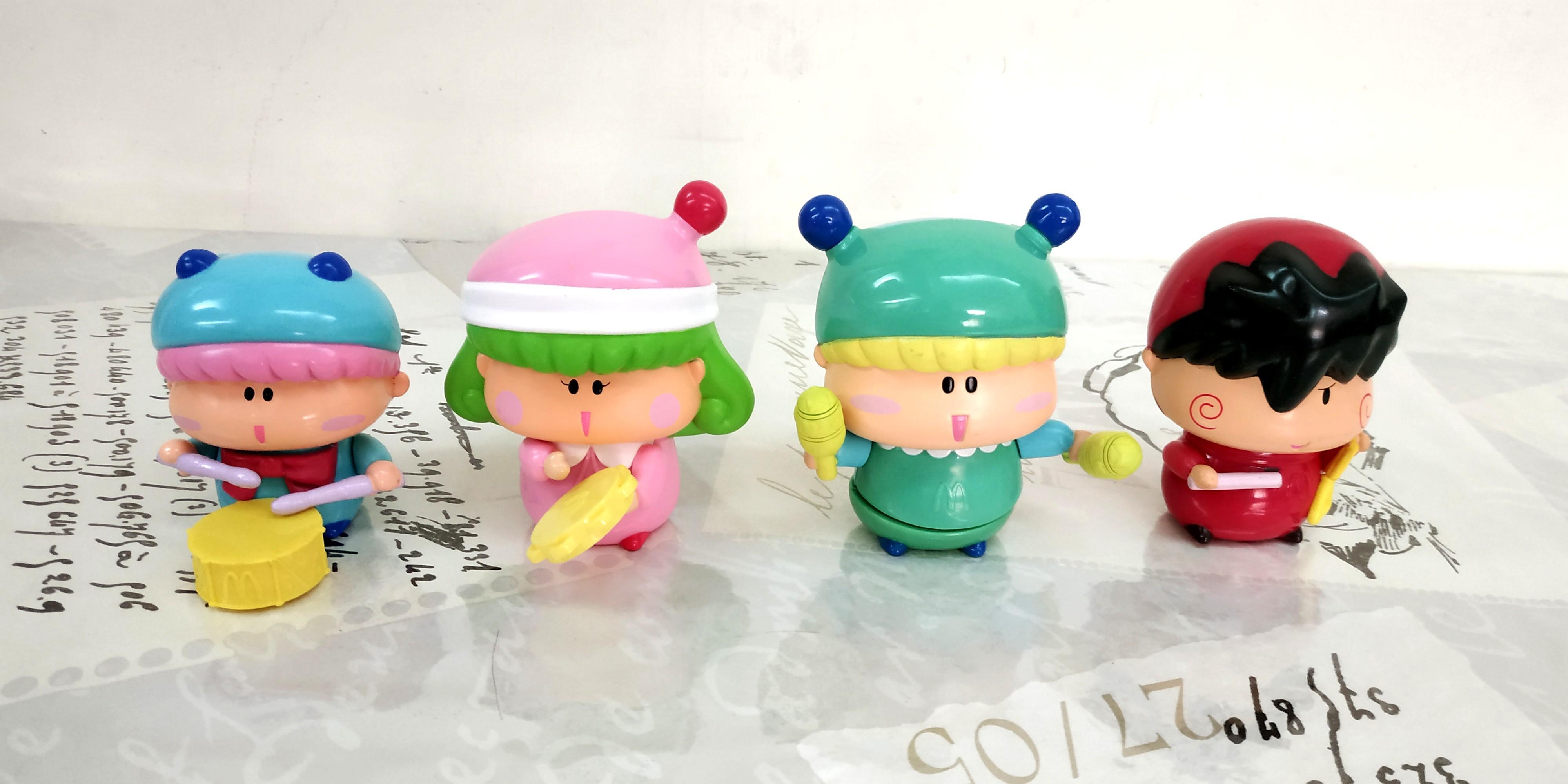 絕版麥當勞2005珍藏玩具一組
