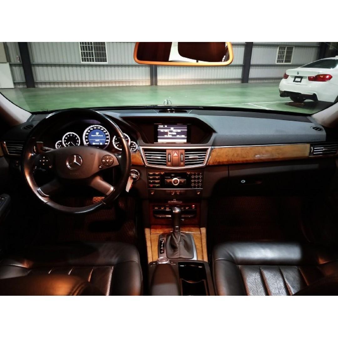 售 2010年 BENZ E200 歐規 W212型 1.8 渦輪增壓 零頭款交車 全額可貸