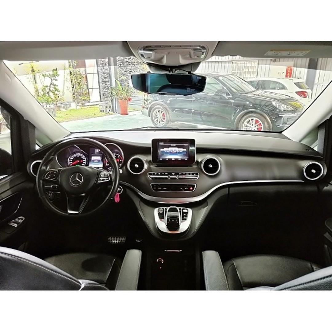 售 2016年 BENZ V250d 總代理 零頭款交車 全額可貸