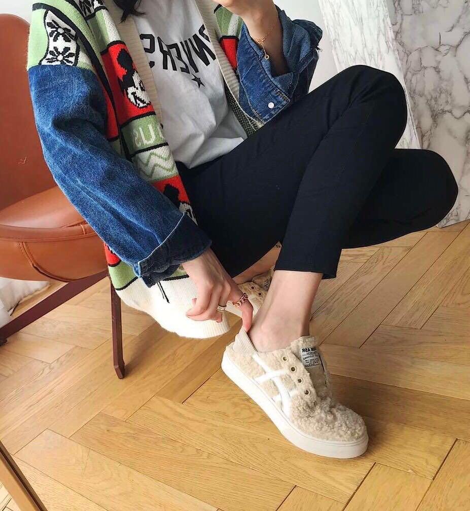 新款預購🇰🇷 韓國DENIM ASR時尚百搭懶人泰迪鞋🐻