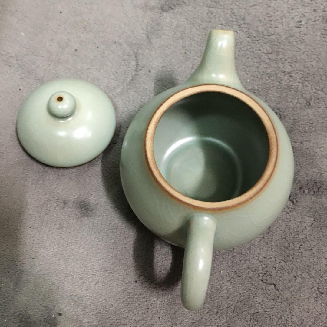 陶作坊 懷汝 汝窯 茶壺