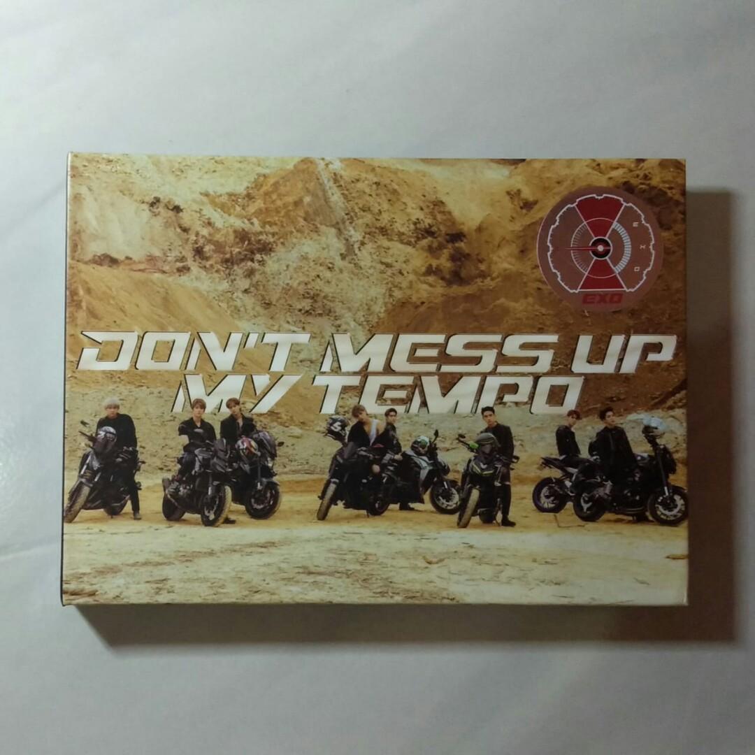 Album EXO Dont Mess Up My Tempo + PC Chen + Postcard Sehun (DMUMT Moderato vers)