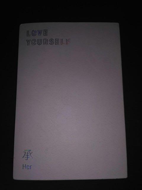 Album only BTS Love Yourself Her versi E