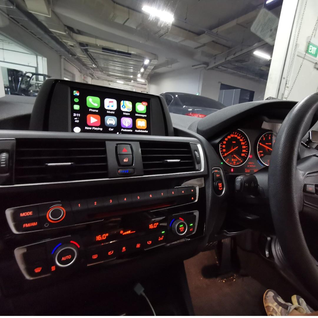 Apple Carplay For Bmw 3 Series F30 F31 Car Accessories Electronics Lights On Carousell