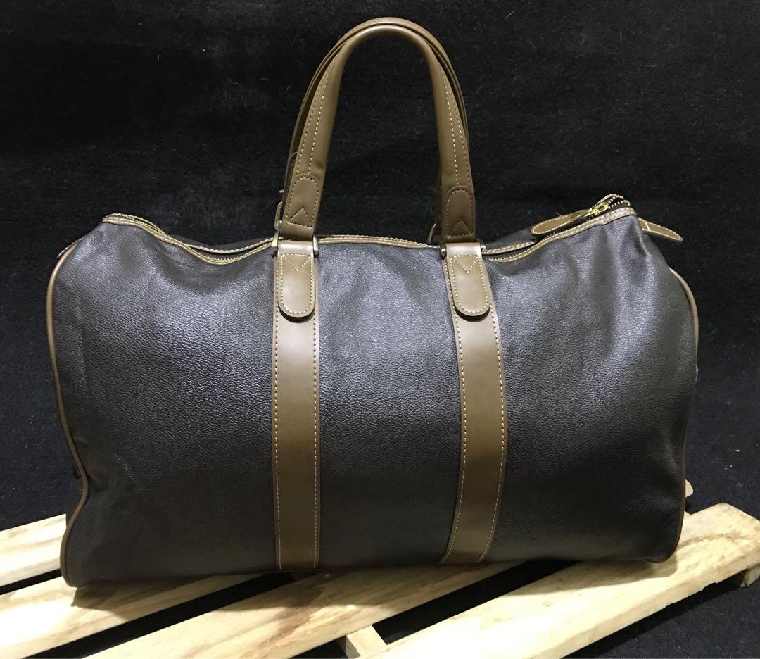 AUTH PIERRE BALMAIN TRAVEL BAG