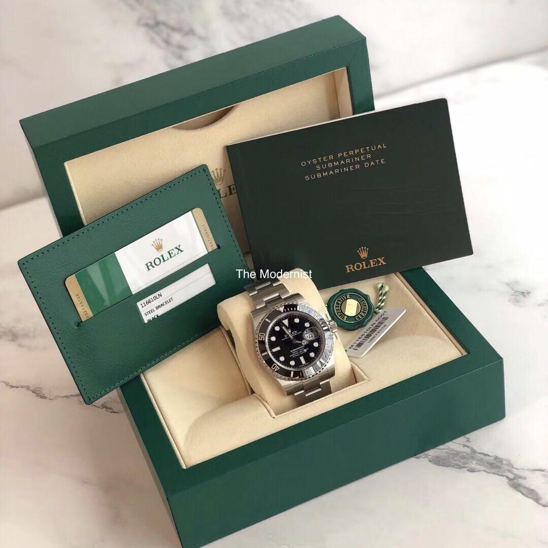 Authentic Pre-loved Rolex Submariner 116610LN Date (Year 2019)