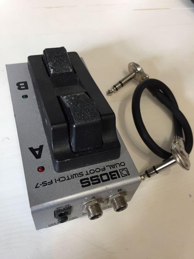 Boss FS7 foot switch