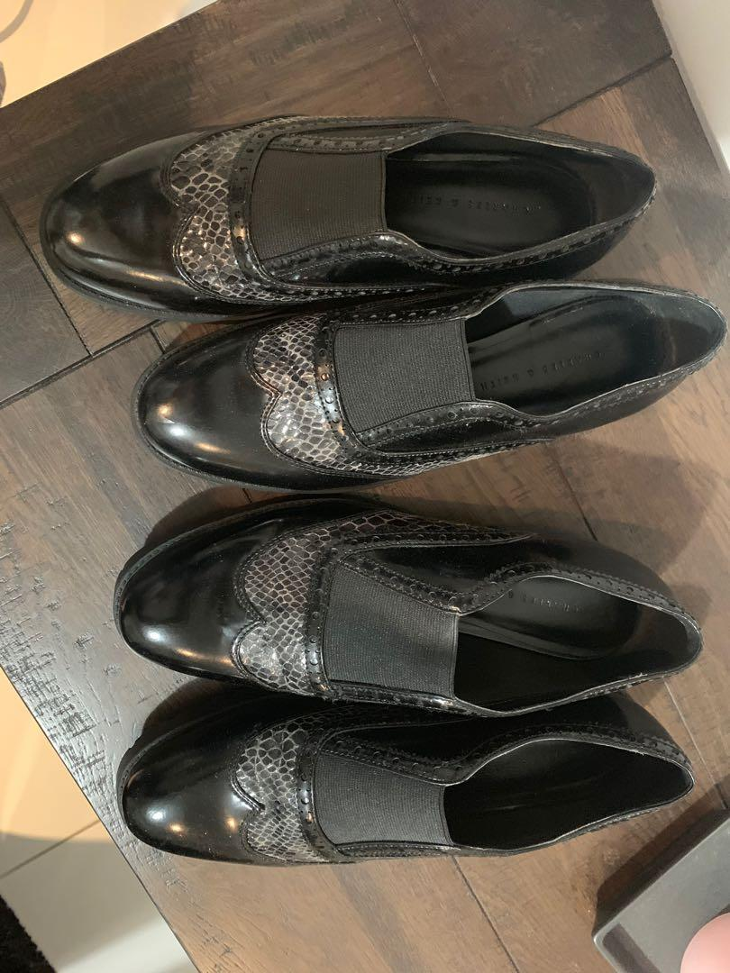 CharlesKeith Loafers- UNUSED Size AU 37; Used only ONCE Size AU 38