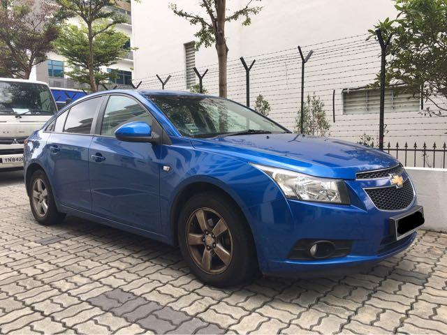 Chevrolet Cruze 1.6A For Rent! Personal•Gojek•Grab•PHV welcome!