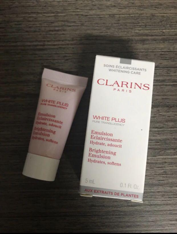 Clarins White plus Brightening Emulsion 美白精華