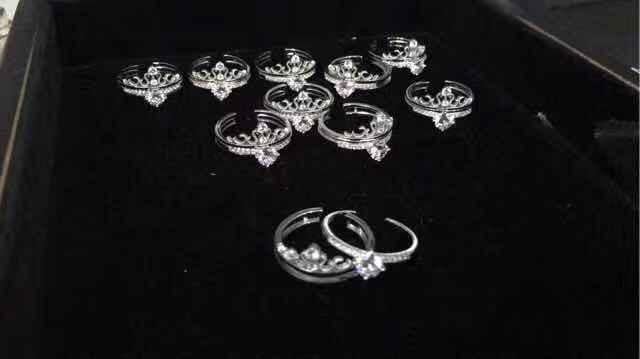 Crown Ring 925 Silver