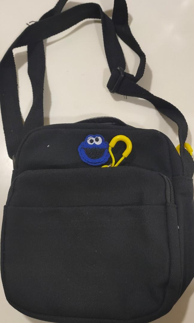 ELMO canvas Sling Bag