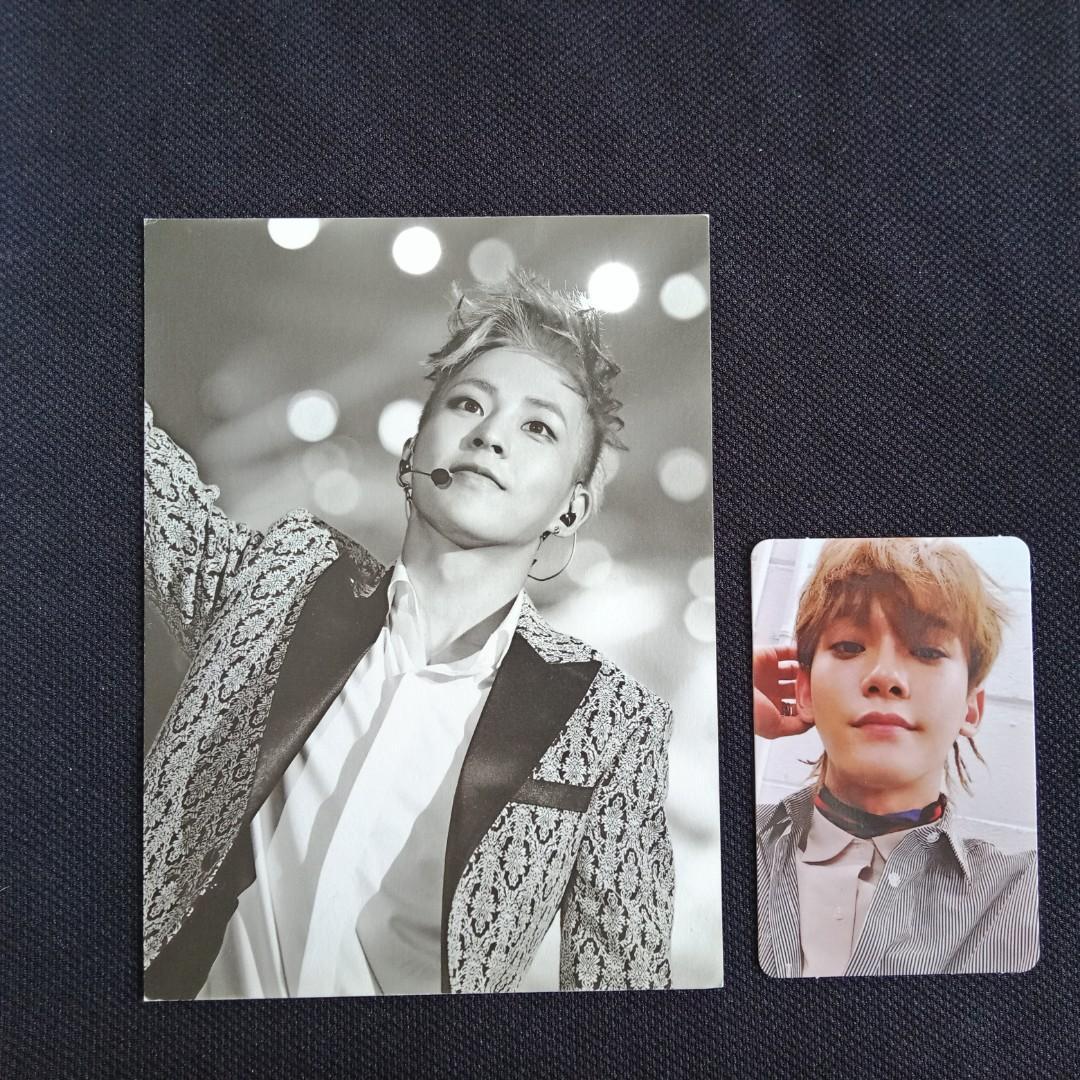 [EXO CLEARANCE SALE] XIUMIN Exology Postcard + Chen DMUMT Photocard