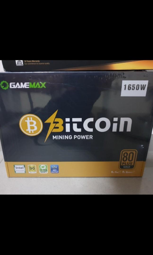 GameMax 1650W Power supply unit 80+ Gold certified
