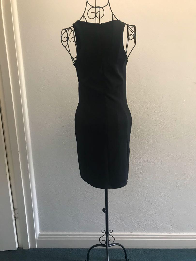 Gorgeous Forever New black dress (size 8) ( worn only once)