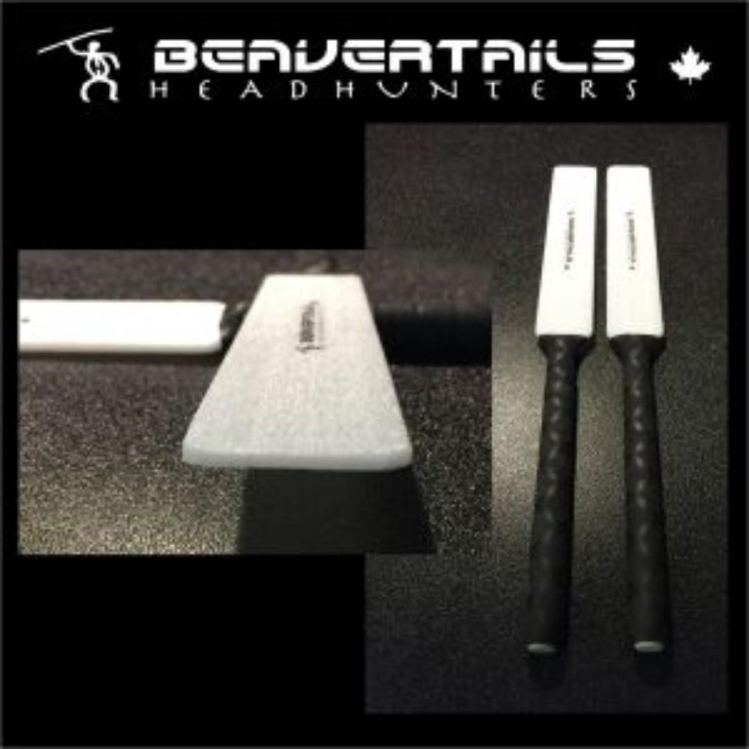 "Headhunters Creatives - Beavertails (""Flat Sticks"" Series) Drum Sticks"