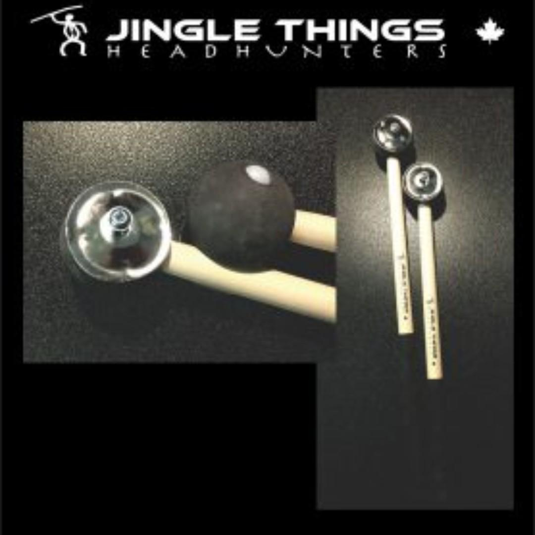 "Headhunters Creatives - Jingle Things (""Hybrid Mallet"" Series) Drum Sticks"