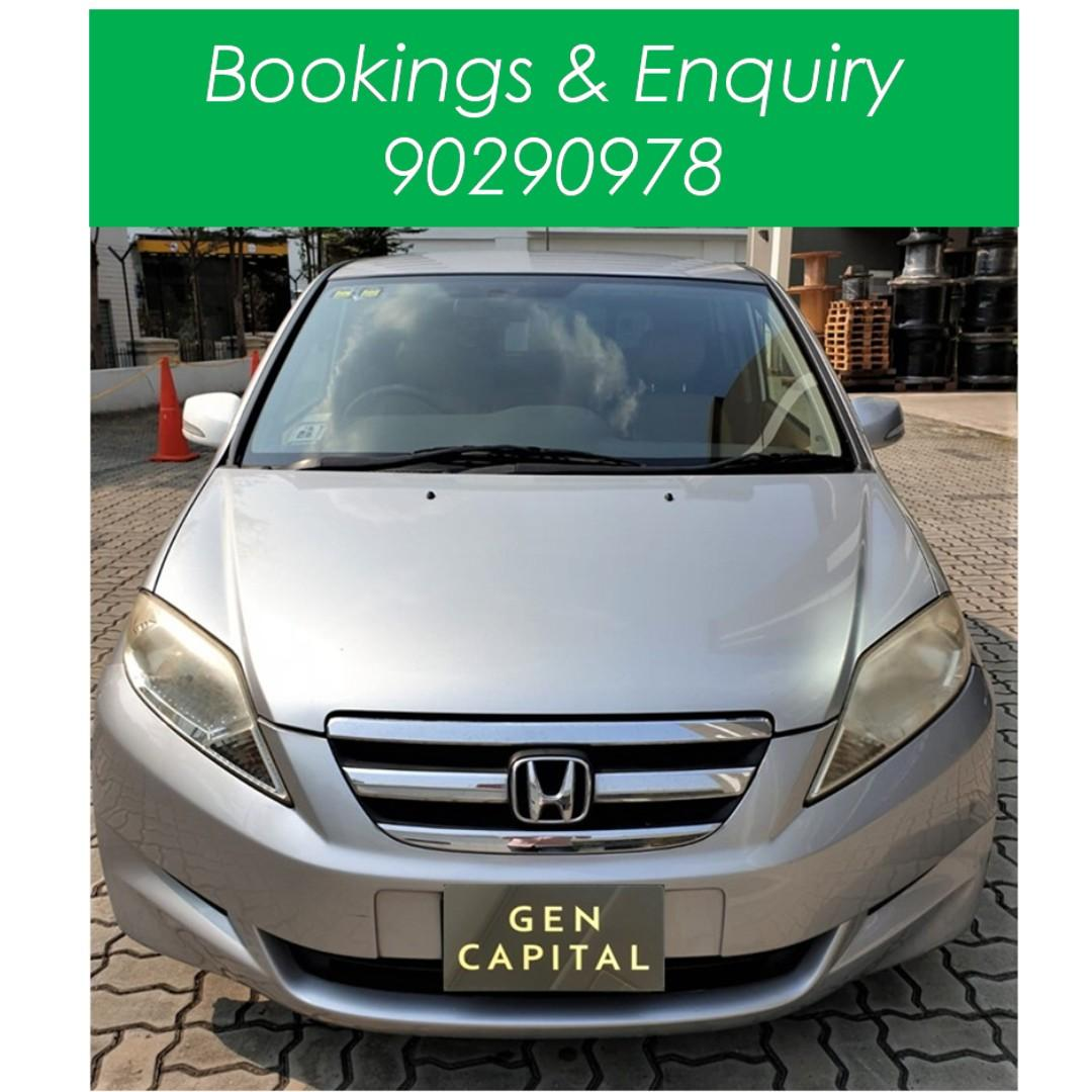 Honda Edix - Many ranges of car to choose from, with very reliable rates!