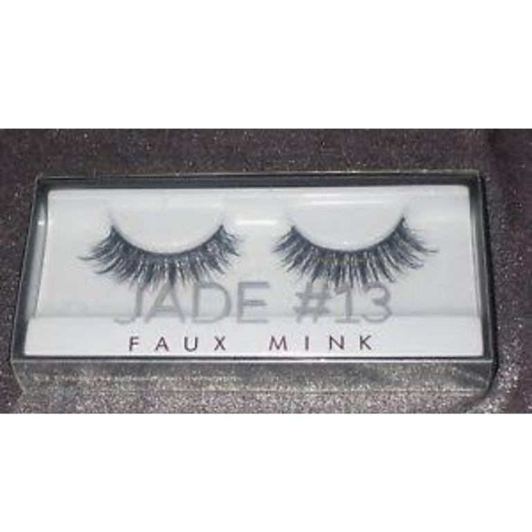 HUDA BEAUTY Faux Mink Lash Collection - Real Mink Fur False EyeLashes #13 JADE BRAND NEW & AUTHENTIC (PRICE IS FIRM, NO SWAPS)
